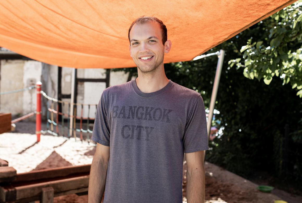 Unser Team Portrait Florian Zimmermann