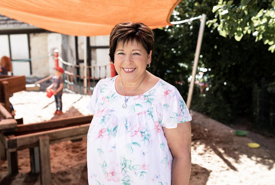 Unser Team Portrait Gudrun Sutter